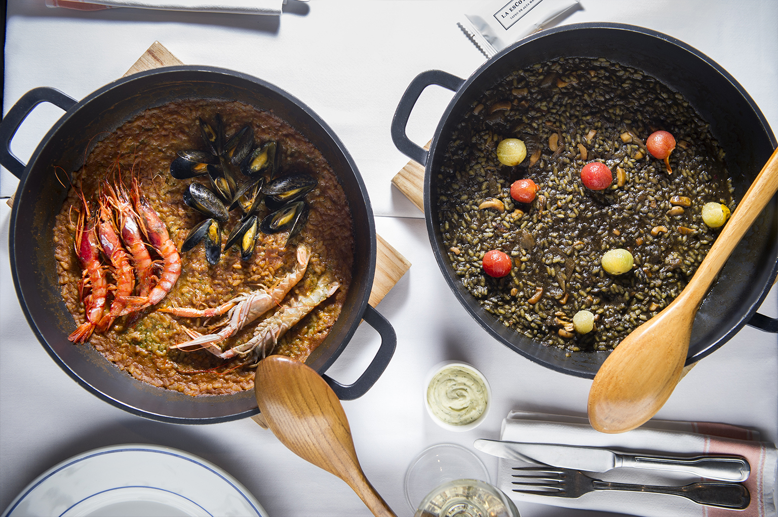 arroz la esCotilla Vitoria-Gasteiz