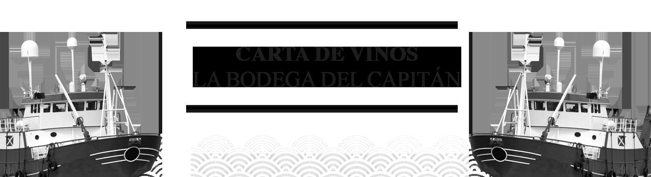 carta vinos la esCotilla Vitoria-Gasteiz